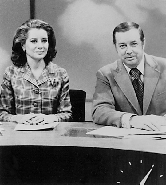 """Today Show, The"" Barbara Walters, Hugh Downs1971 - Image 1ANNal01"