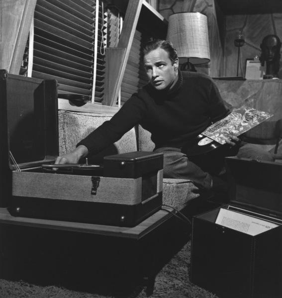 Marlon Brando at his Beverly Glen home, Los Angeles 1953 © 1978 Sid Avery MPTV - Image 0007_0042
