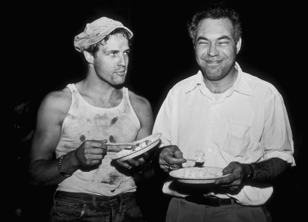 "Marlon Brando with Rudy Bond during filming of ""A Streetcar Named Desire""1951Photo by Jack AlbinMPTV - Image 0007_0089"