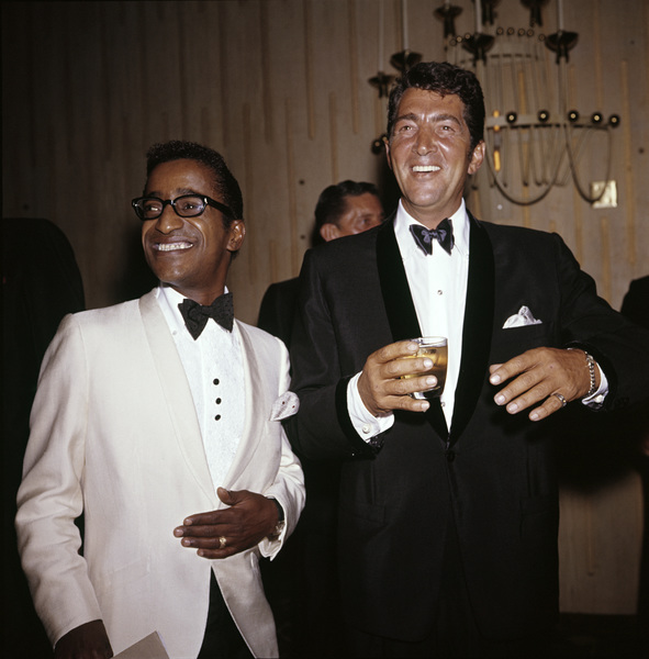 Sammy Davis Jr. and Dean Martincirca 1960 © 1978 David Sutton - Image 0009_2176