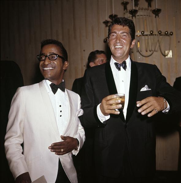 Sammy Davis Jr. and Dean Martincirca 1960 © 1978 David Sutton - Image 0009_2176