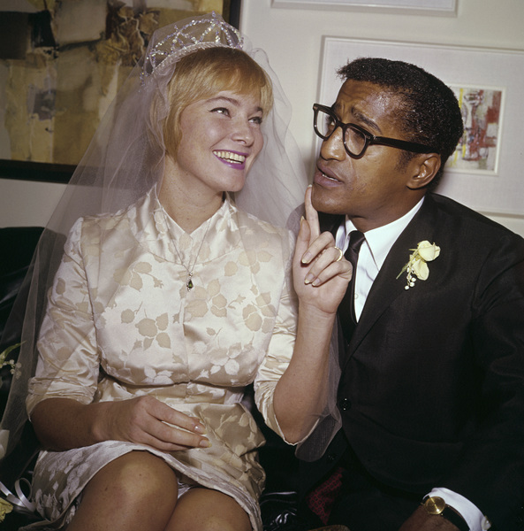 Sammy Davis Jr. and May Britt on their wedding day11-13-1960 © 1978 David Sutton - Image 0009_2189