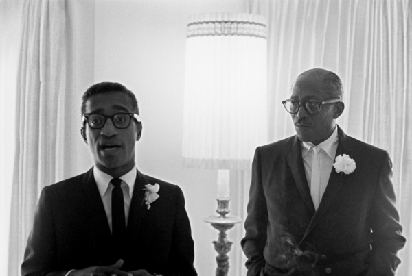 Sammy Davis Sr. at Sammy Davis Jr.