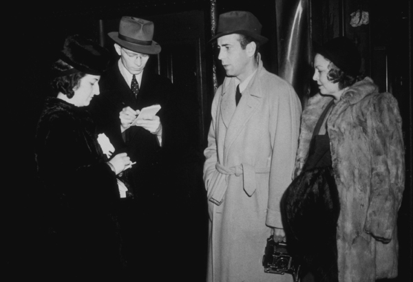 Humphrey Bogart and his third wife, Mayo Methot, circa 1942.MPTV - Image 0015_1250