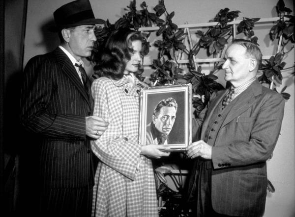Humphrey Bogart and Lauren Bacall, circa 1942.MPTV - Image 0015_1311