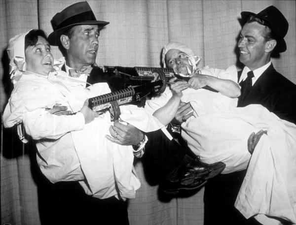 Humphrey Bogart and Alan Ladd, circa 1944.MPTV - Image 0015_1358