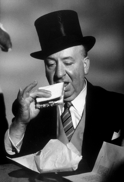 """Alfred Hitchcock on the set of """"Alfred Hitchcock Presents.""""1956/CBS. © 1978 Gene Trindl - Image 0017_0043"""