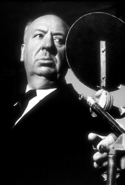 "Alfred Hitchcock on the set of""Alfred Hitchcock Presents.""1956/CBS. © 1978 Gene Trindl - Image 0017_0052"