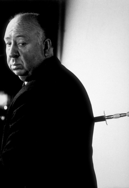 """Alfred Hitchcock on the set of""""Alfred Hitchcock Presents,""""January 12, 1956 / CBS. © 1978 Gene Trindl - Image 0017_0501"""