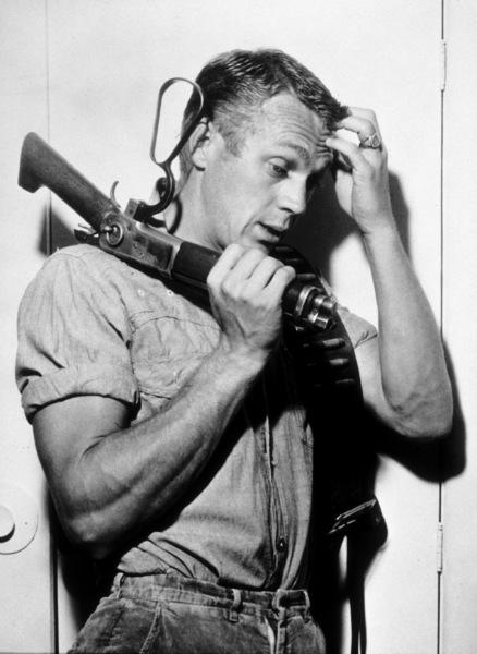 """Steve McQueen""""Wanted: Dead or Alive""""C. 1960 CBSMPTV - Image 0019_0306"""