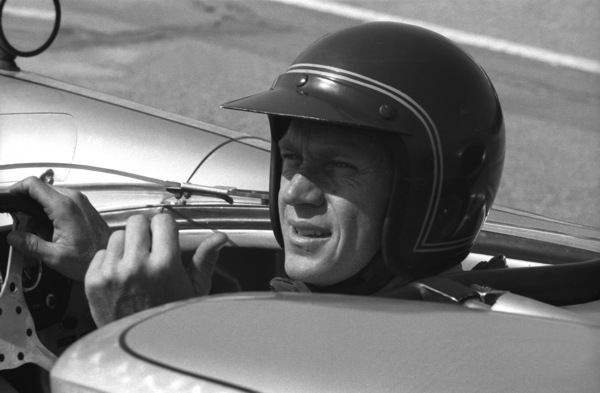 Steve McQueen in his Lola at the Riverside Raceway in Riverside, CA1966 © 1978 Chester Maydole - Image 0019_0879