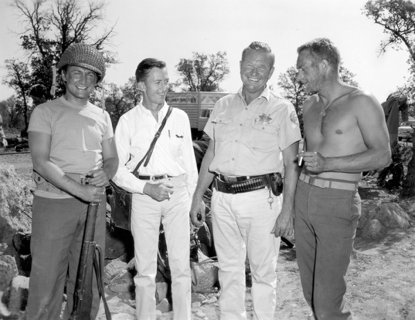 """""""Hell Is for Heroes""""Nick Adams, Steve McQueen1962 Paramount Pictures** I.V. - Image 0019_1000"""