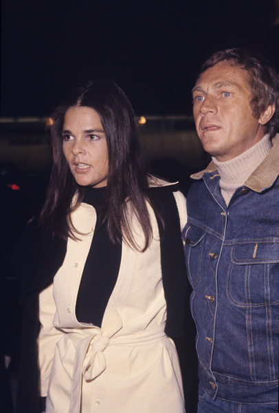 Ali MacGraw and Steve McQueen1972© 1978 Gary Lewis - Image 0019_1171