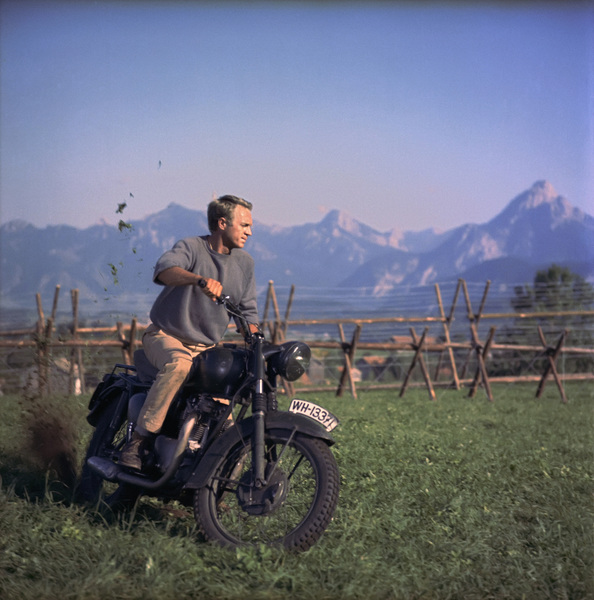 """The Great Escape""Steve McQueen1963 United Artists** I.V.C. - Image 0019_1174"