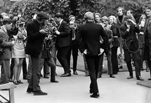Steve McQueen meeting with the press in London1969** J.C.C. - Image 0019_1177