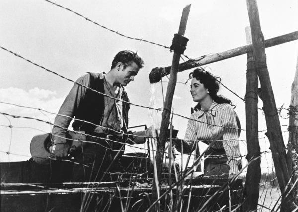 """James Dean and Elizabeth Taylorin """"Giant""""1955 Warner / MPTV - Image 0024_0218"""