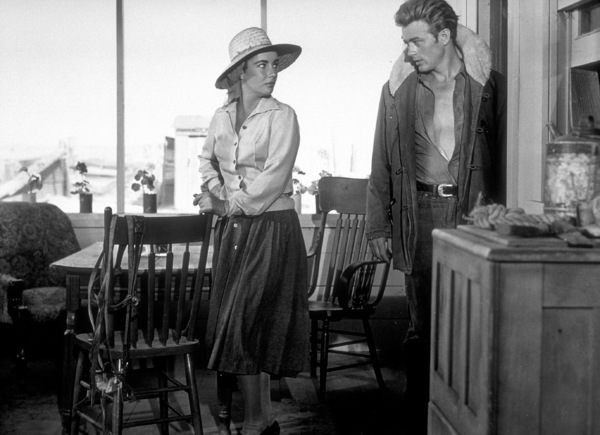 """James Dean and Elizabeth Taylorin """"Giant.""""1955 Warner / MPTVPhoto by Floyd McCarty - Image 0024_0420"""