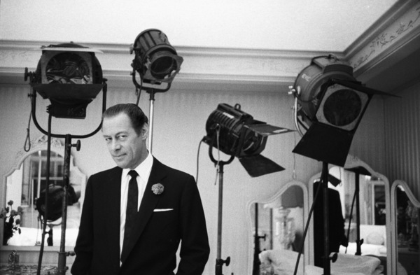 """""""Midnight Lace""""Rex Harrison1960© 1978 Bob Willoughby - Image 0025_2574"""