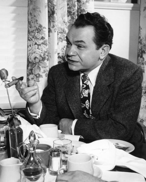 "Edward G. Robinson behind the scenesof ""Key Largo,"" 1948.Photo by Flloyd McCarty - Image 0029_0811"