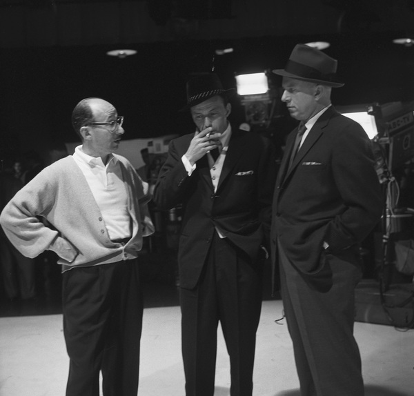 Sammy Cahn with Frank Sinatra and Jimmy Van Heusen1959 © 1978 Sid Avery - Image 0031_0145