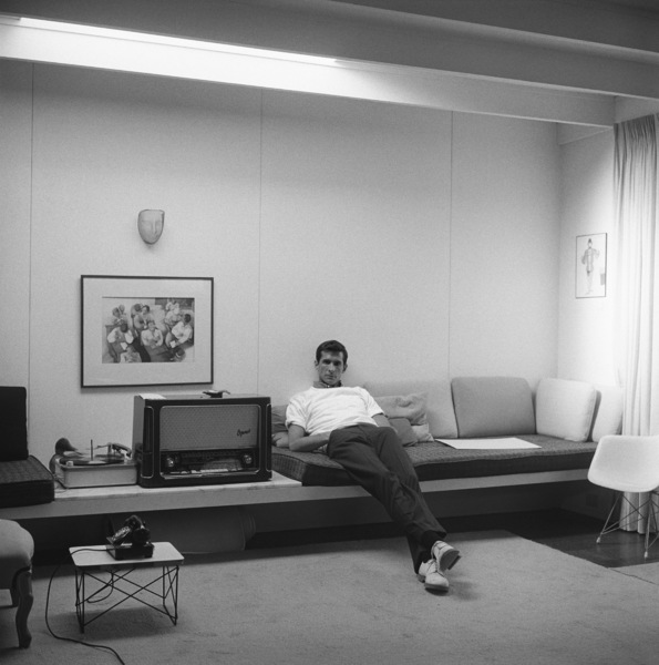Anthony Perkins at home in Los Angeles1959© 1978 Sid Avery - Image 0032_0015