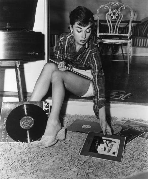Audrey Hepburn at homecirca 1953Photo by Bud Fraker - Image 0033_0360
