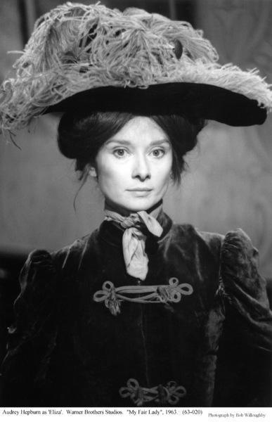 """""""My Fair Lady""""Audrey Hepburn1963 / Warner Brothers © 1978 Bob Willoughby - Image 0033_1039"""