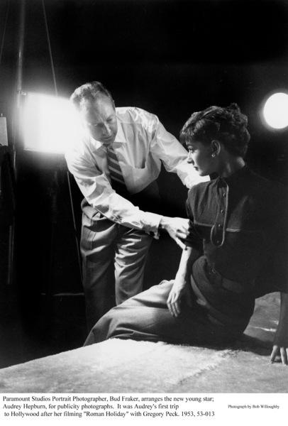 Audrey Hepburn, Bud Fraker, 1953. © 1978 Bob Willoughby - Image 0033_1128