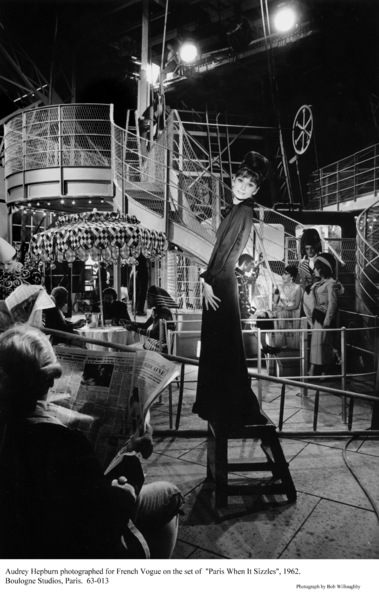 """Paris When It Sizzles""Audrey Hepburn1962 / Paramount © 1978 Bob Willoughby - Image 0033_2325"