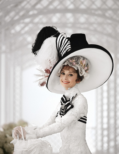 """""""My Fair Lady""""Audrey Hepburn1963 Warner Brothers© 1978 Bob Willoughby - Image 0033_2347"""