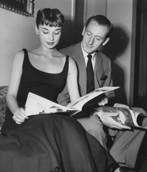 Audrey Hepburn and James Hansonin Rome August 1952**I.V. - Image 0033_2490