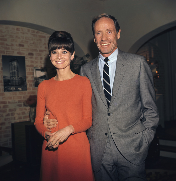Audrey Hepburn and Mel Ferrer1967 © 1978 David Sutton - Image 0033_2639