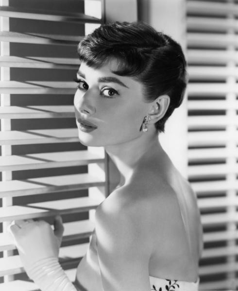 "Audrey Hepburn during the making of ""Sabrina""1954 Paramount** I.V. - Image 0033_2641"