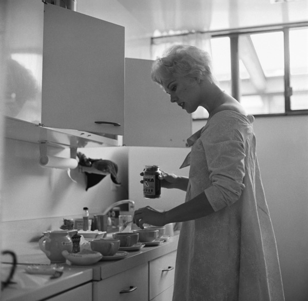 Kim Novak at home in Los Angeles1956© 1978 Sid Avery - Image 0036_0065