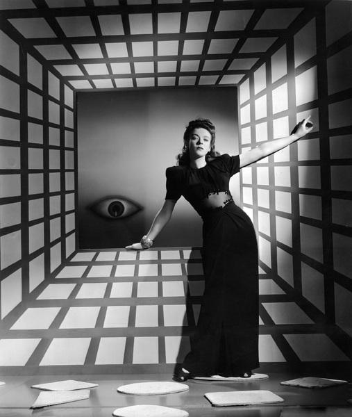 Ida Lupino 1940 Warner Brothers Photo by Scotty Welbourne  - Image 0055_0051