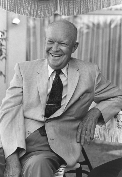 Dwight D. Eisenhower at home in Palm Springs, CA1961 © 1978 Sid Avery - Image 0060_0001