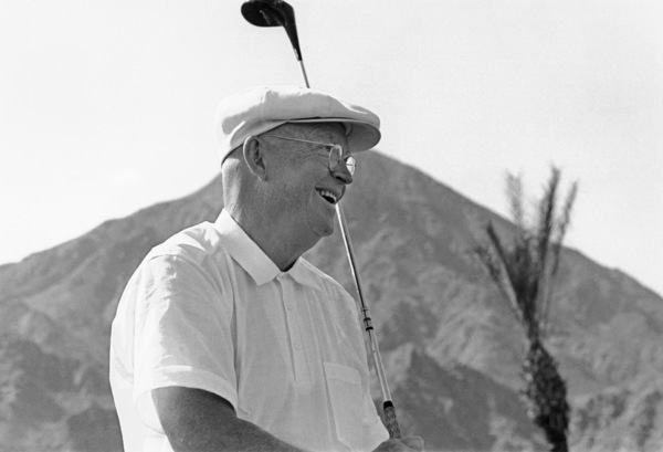 Dwight D. Eisenhower at home in Palm Springs, CA1961 © 1978 Sid Avery - Image 0060_0005