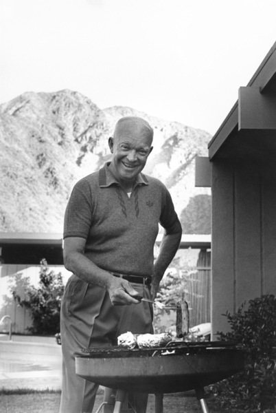 Dwight D. Eisenhower at home in Palm Springs, CA1961 © 1978 Sid Avery - Image 0060_0015