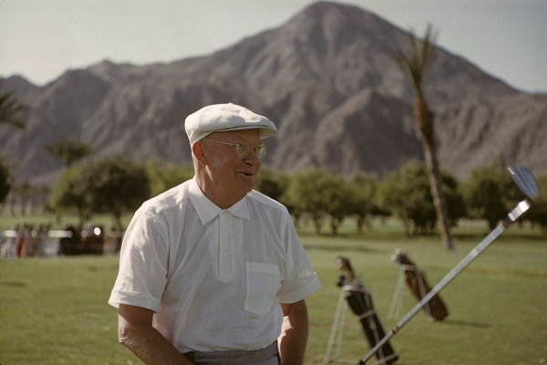 Dwight D. Eisenhower playing golf at La Quinta1961 © 1978 Sid Avery - Image 0060_0230