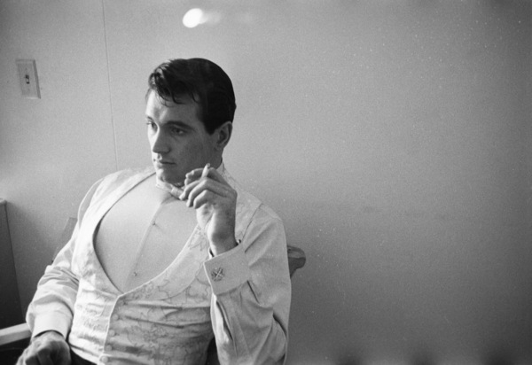 "Rock Hudson during the making of ""One Desire""1954© 1978 Bob Willoughby - Image 0067_1145"