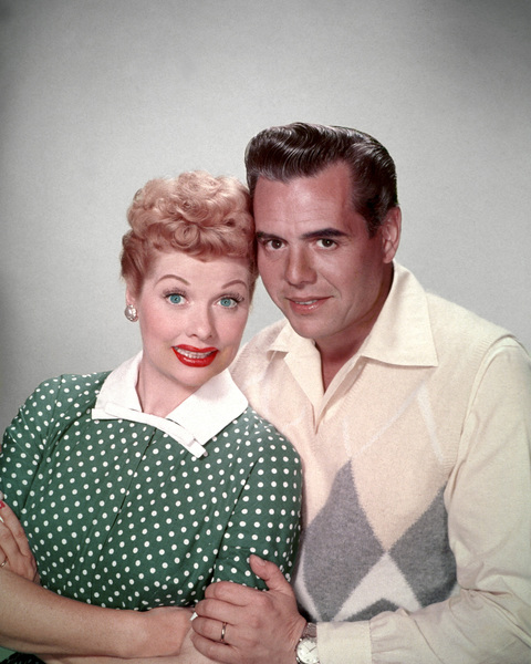 Lucille Ball and Desi Arnaz1954 © 1978 Wallace Seawell - Image 0069_2058