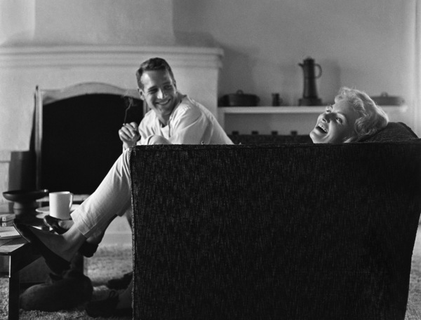 Paul Newman and Joanne Woodward at their Beverly Hills home1958© 1978 Sid Avery - Image 0070_0004