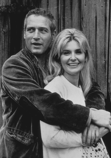 "Paul Newman and Joanne Woodward off the set of ""Winning"" 1968 © 1978 David Sutton - Image 0070_0150"