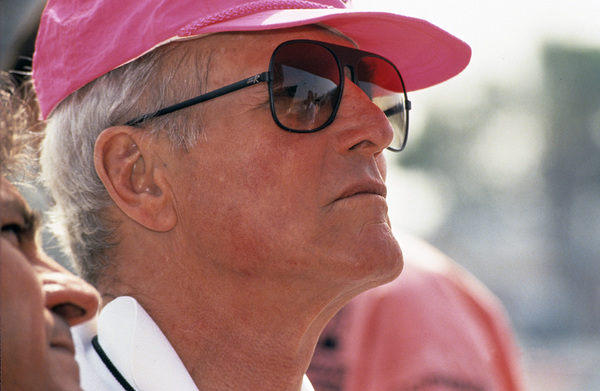 Paul Newman, co-owner of Newman-Haas Racing, at the Long Beach Grand Prix in Long Beach, CA1992 © 1992 Ron Avery - Image 0070_1002