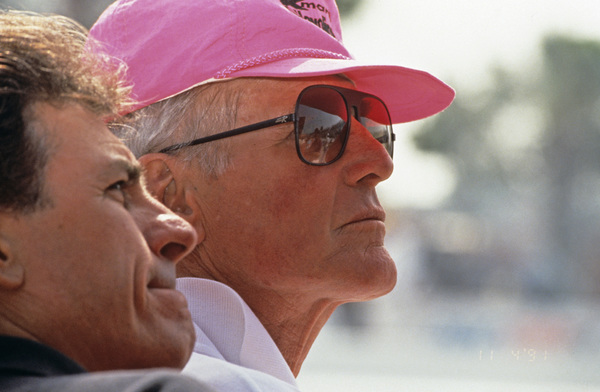 Paul Newman, co-owner of Newman-Haas Racing, at the Long Beach Grand Prix in Long Beach, CA1992 © 1992 Ron Avery - Image 0070_1032