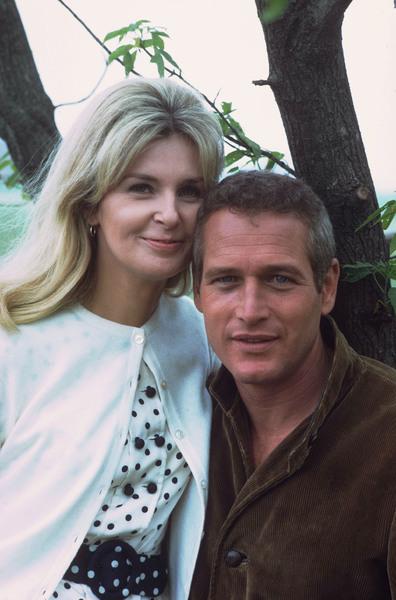 Paul Newman & Joanne Woodward,1968. © 1978 David Sutton - Image 0070_2034
