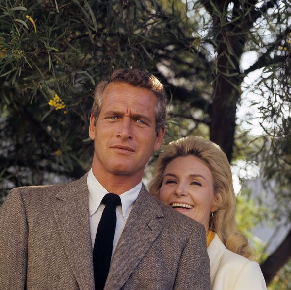 Paul Newman & Joanne Woodward at home1965© 1978 David Sutton - Image 0070_2102
