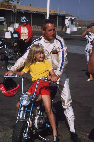 "Paul Newman with daughter Elinor on the set of ""Winning""1968© 1978 David Sutton - Image 0070_2250"