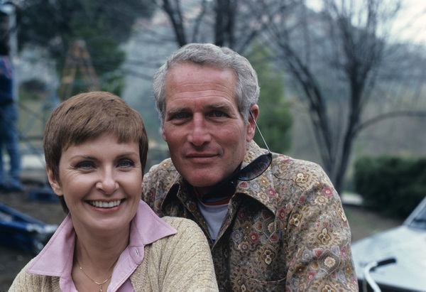 Paul Newman and Joanna Woodward1980© 1980 Gene Trindl - Image 0070_2291