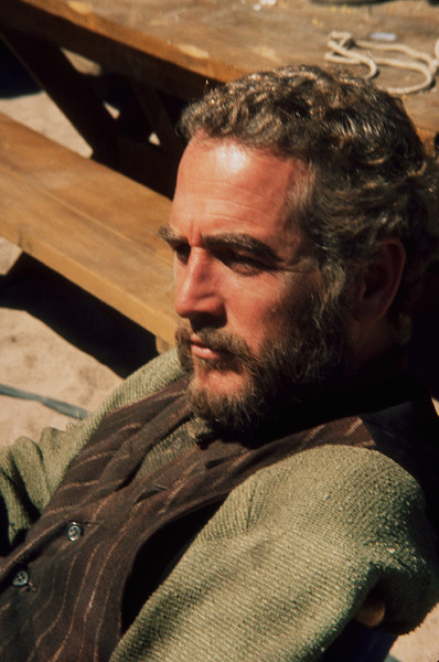 "Paul Newman in ""The Life and Times ofJudge Roy,"" 1972. © 1978 Wallace Seawell - Image 0070_2303"